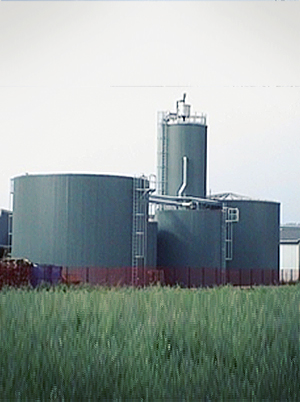 Wastewater treatment brewery